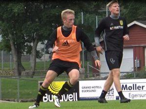 emil zetterquist dennis nielsen trening juli 2016