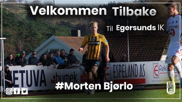 43eb2c25 Angrepsspiller Morten Bjørlo vender tilbake til tigrene. NY SPILLER. EIK  Fotball ...